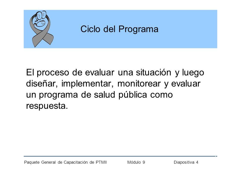 Ciclo del Programa