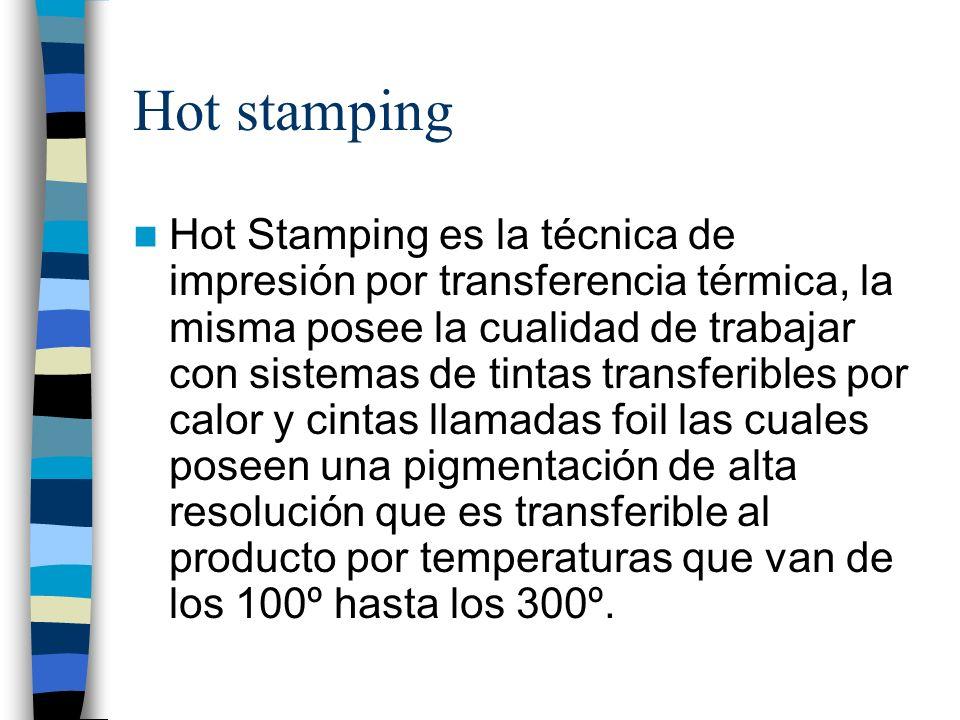 Hot stamping