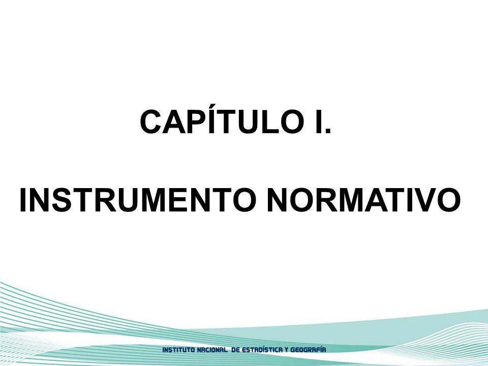 INSTRUMENTO NORMATIVO