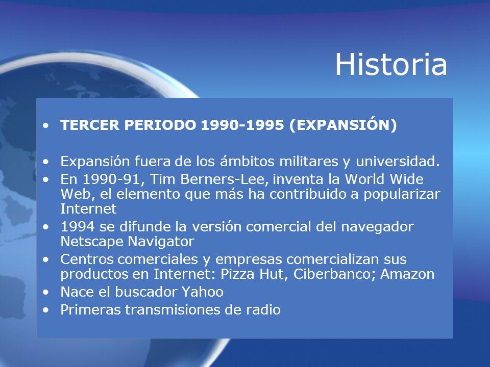 Historia TERCER PERIODO 1990-1995 (EXPANSIÓN)