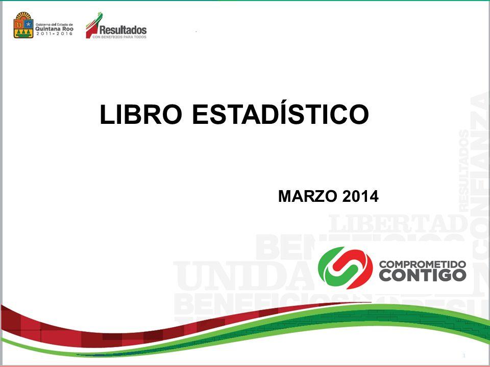 LIBRO ESTADÍSTICO MARZO 2014