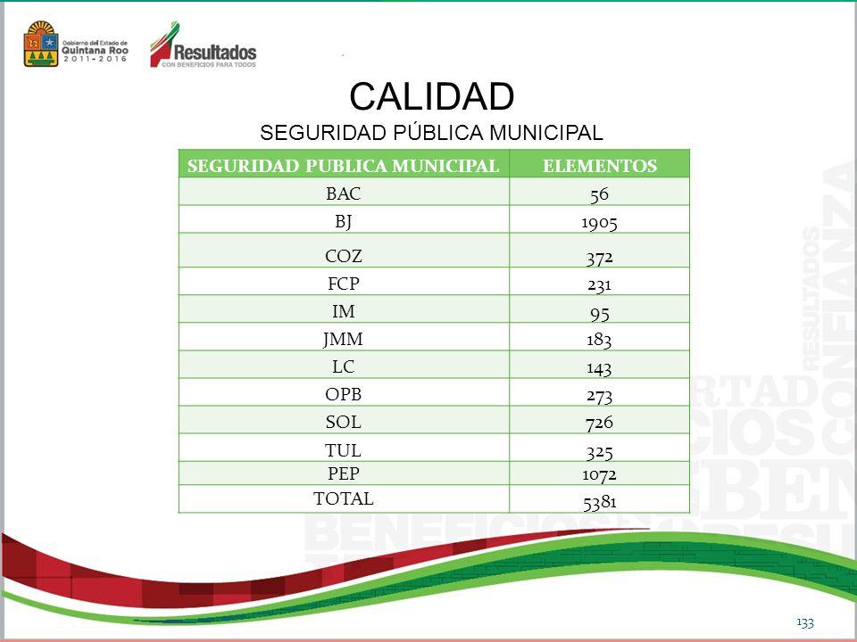 SEGURIDAD PUBLICA MUNICIPAL