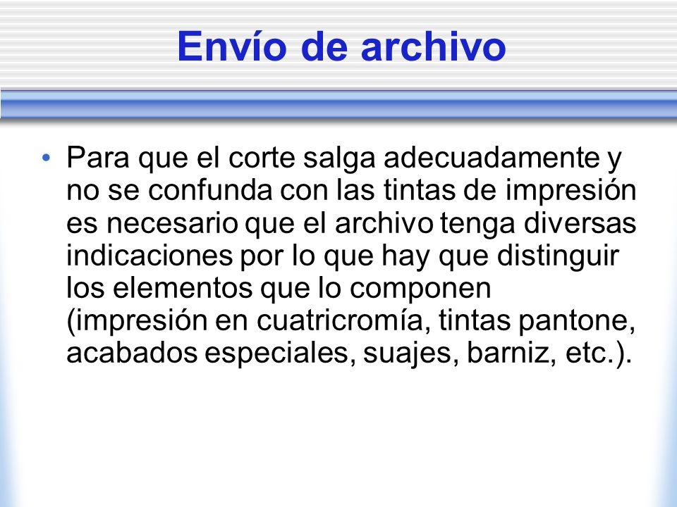 Envío de archivo