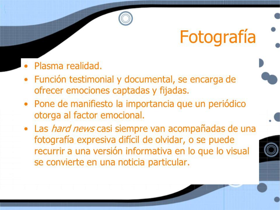 Fotografía Plasma realidad.
