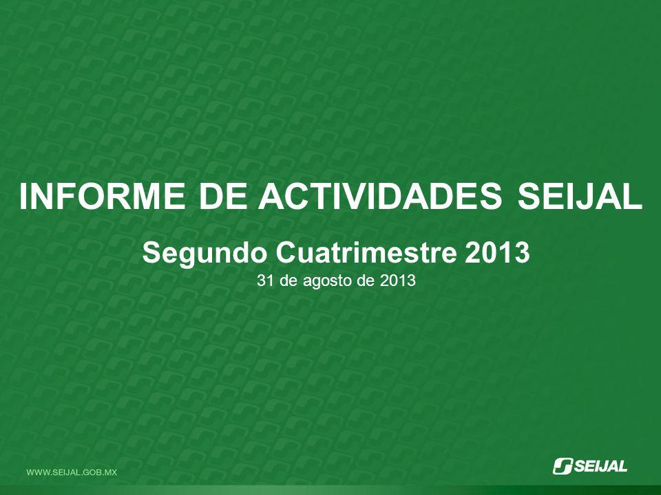 INFORME DE ACTIVIDADES SEIJAL