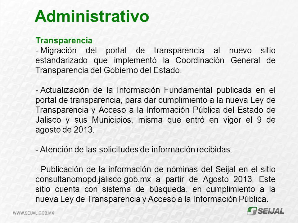 Administrativo Transparencia