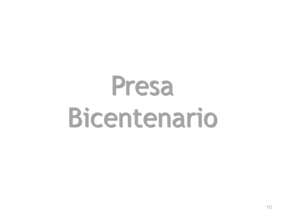 Presa Bicentenario