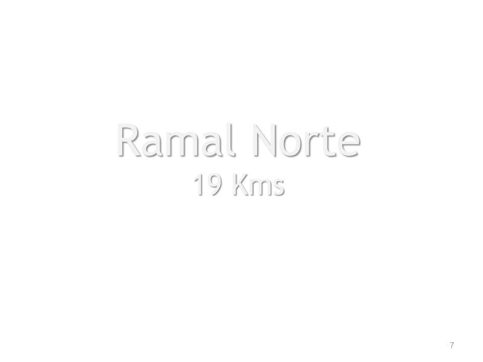 Ramal Norte 19 Kms