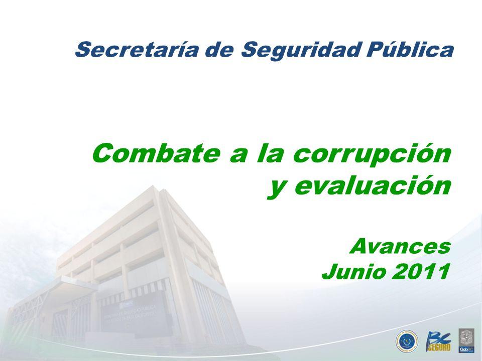 Combate a la corrupción y evaluación