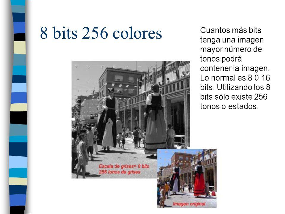 8 bits 256 colores
