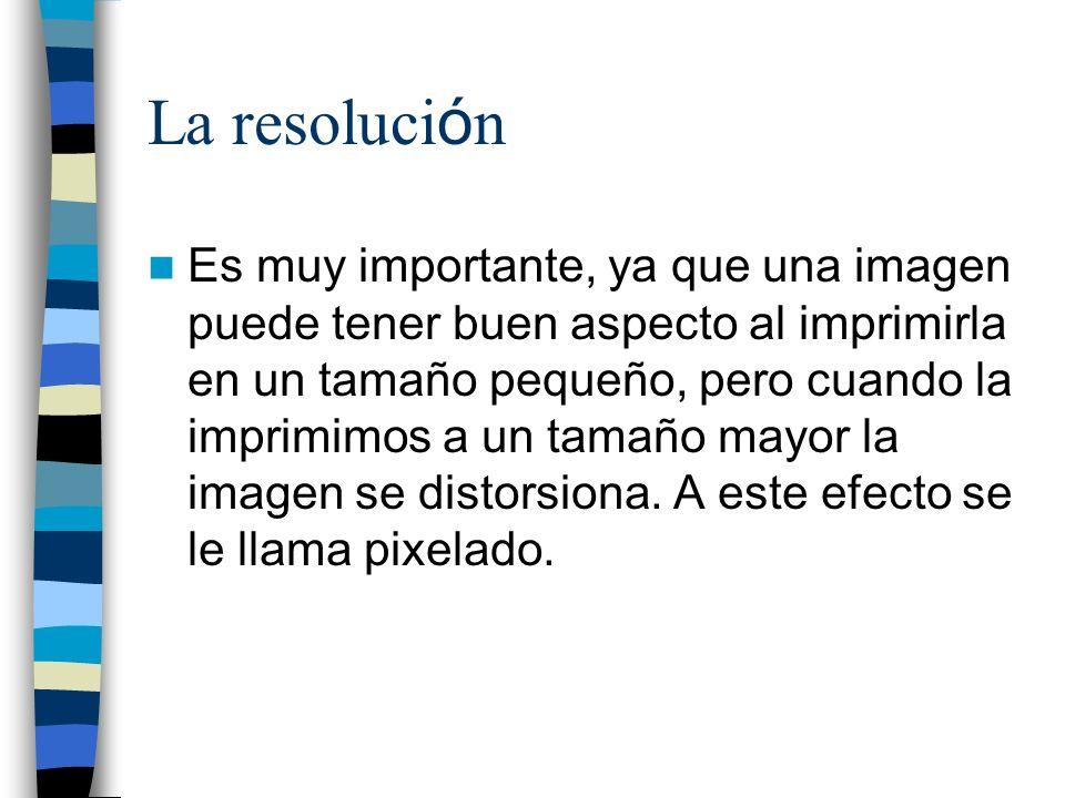 La resolución