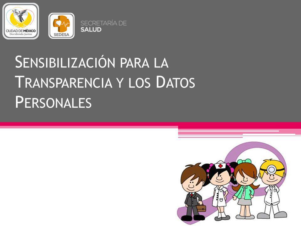 Sensibilización para la Transparencia y los Datos Personales