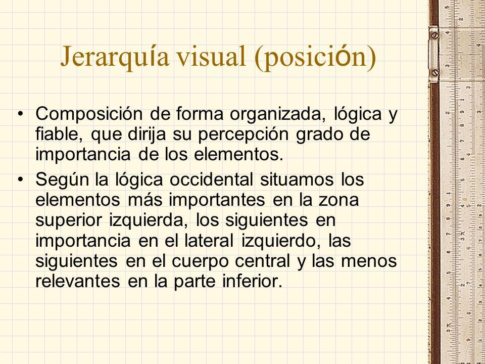 Jerarquía visual (posición)