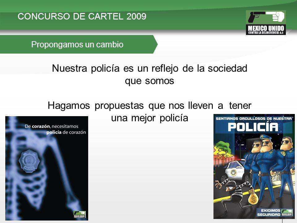 CONCURSO DE CARTEL 2009 ¿Porque La Policía y Mi Seguridad
