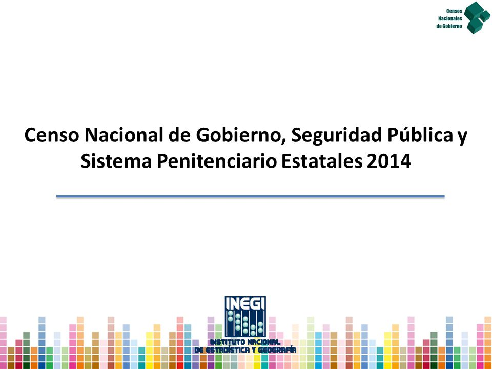 Sistema Penitenciario Estatales 2014
