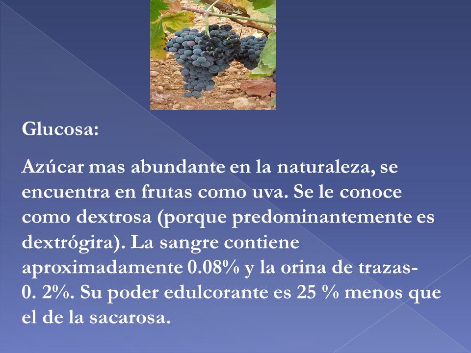 Glucosa: