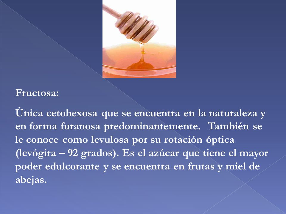 Fructosa: