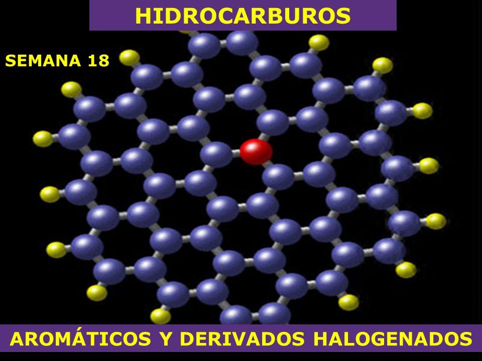 AROMÁTICOS Y DERIVADOS HALOGENADOS