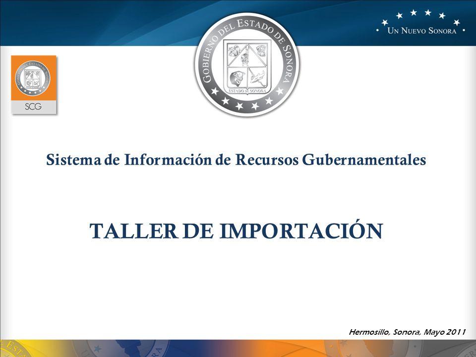 Sistema de Información de Recursos Gubernamentales