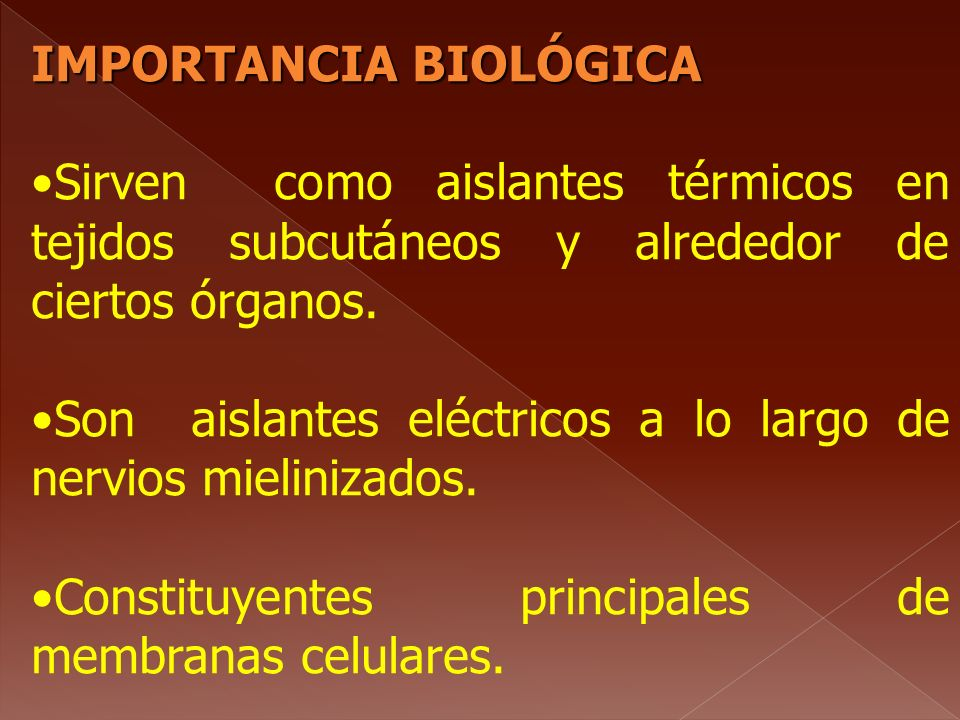 IMPORTANCIA BIOLÓGICA