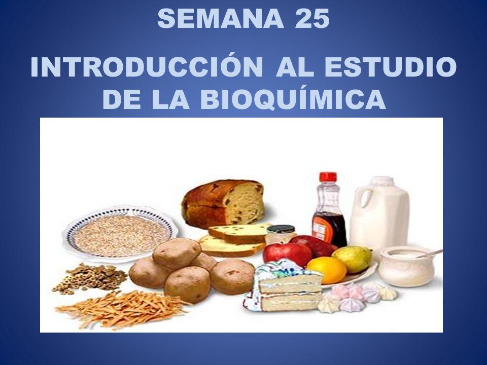 INTRODUCCIÓN AL ESTUDIO DE LA BIOQUÍMICA