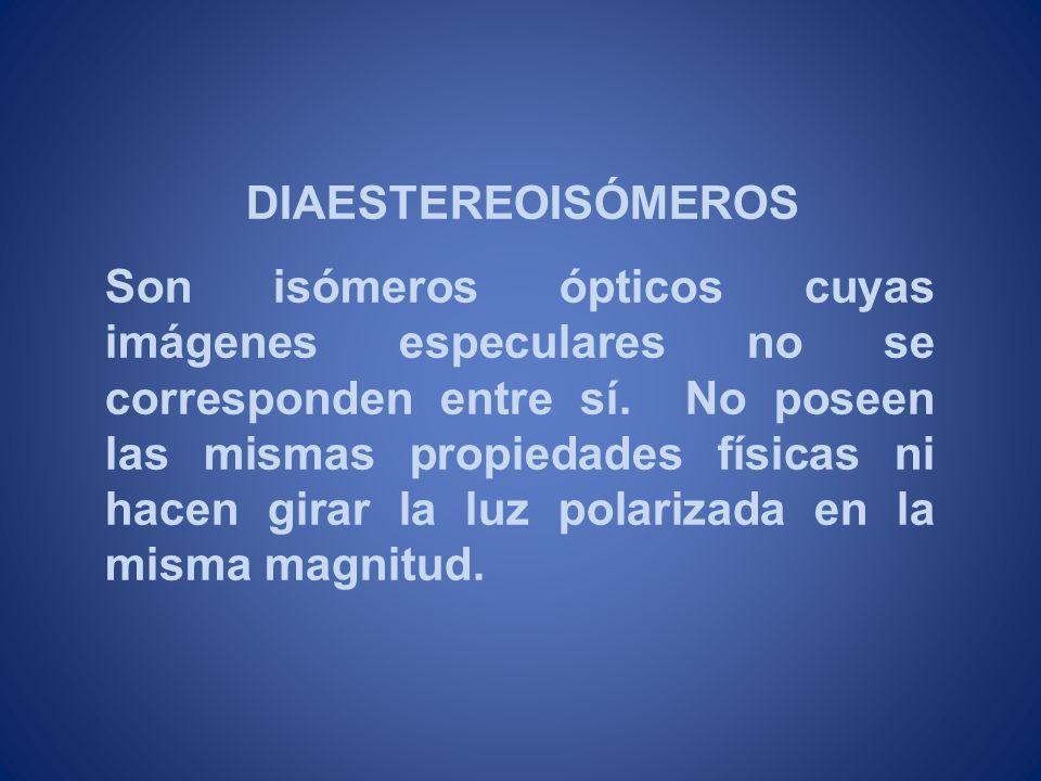 DIAESTEREOISÓMEROS