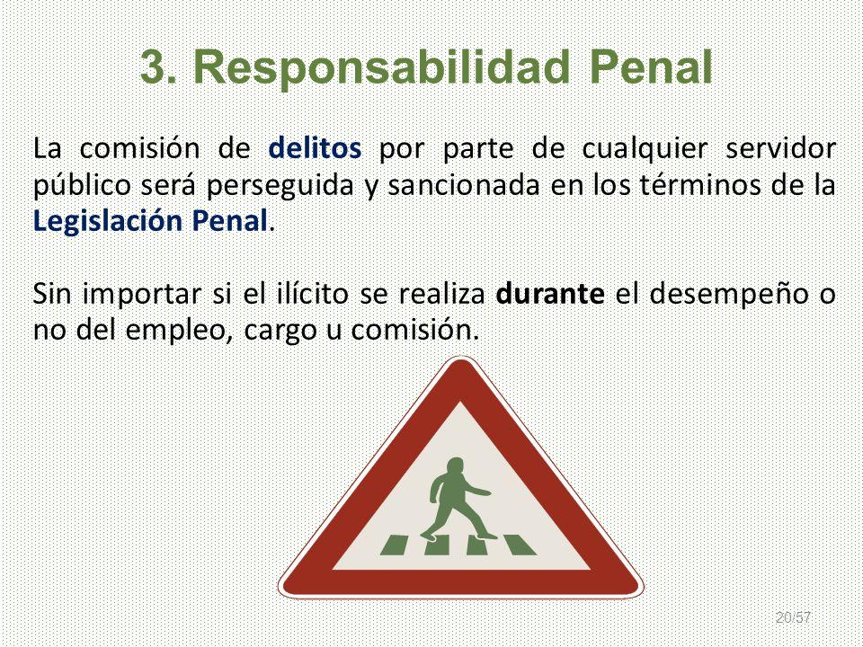 3. Responsabilidad Penal