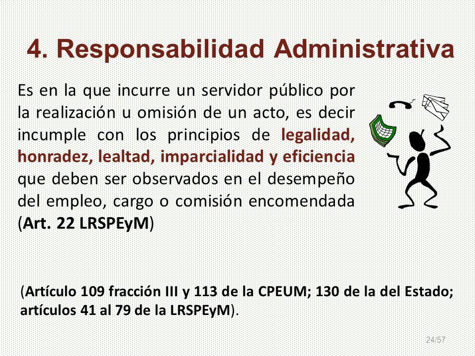 4. Responsabilidad Administrativa