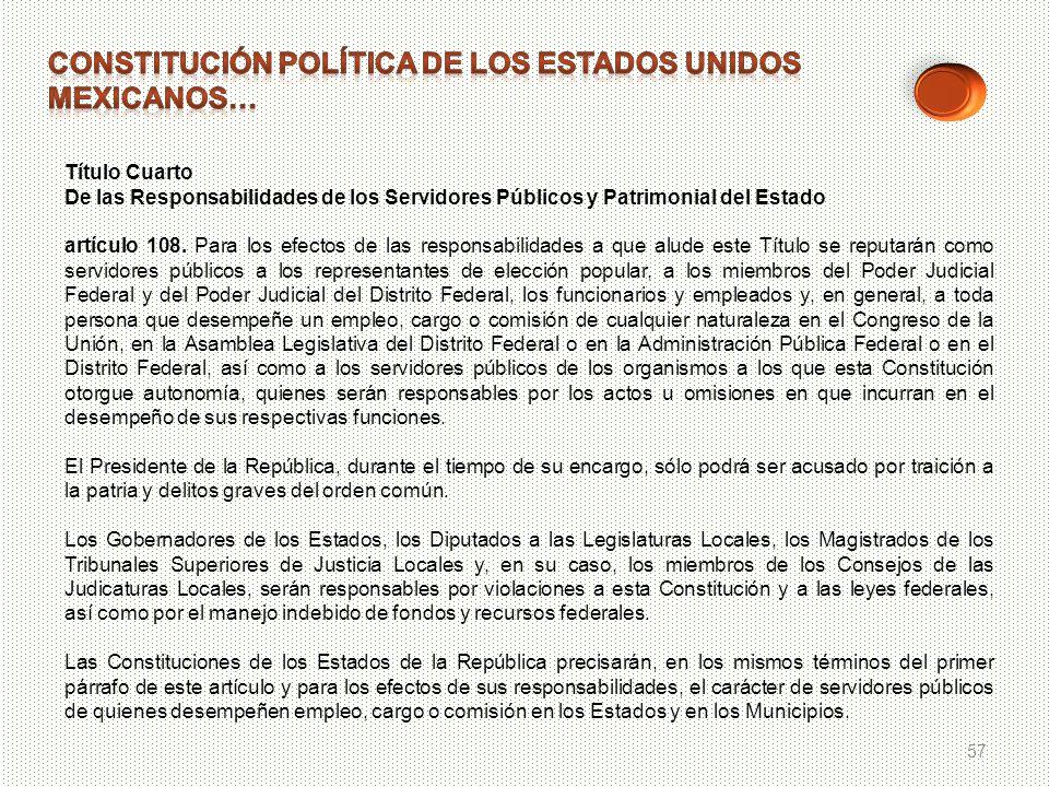 Constitución política de los estados unidos mexicanos…
