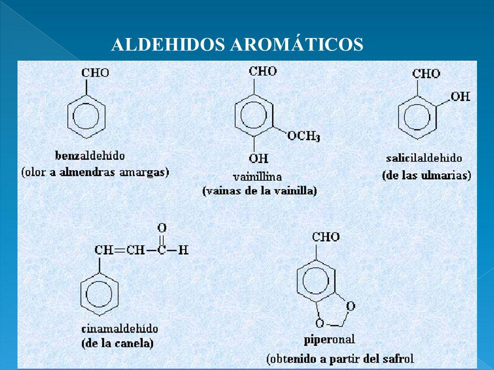 ALDEHIDOS AROMÁTICOS