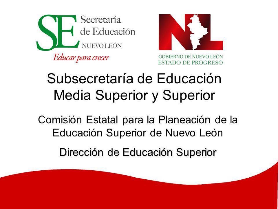 Subsecretaría de Educación Media Superior y Superior