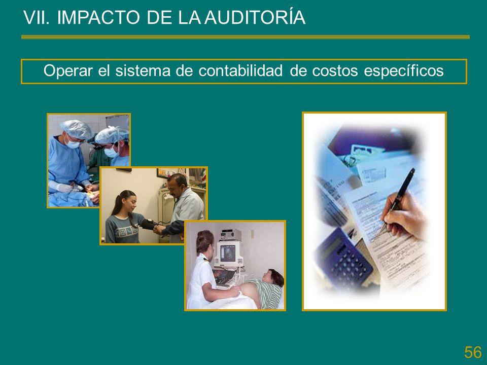Operar el sistema de contabilidad de costos específicos