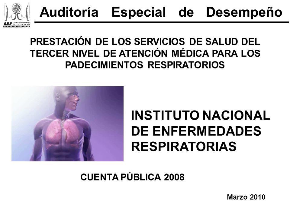 Auditoría Especial de Desempeño