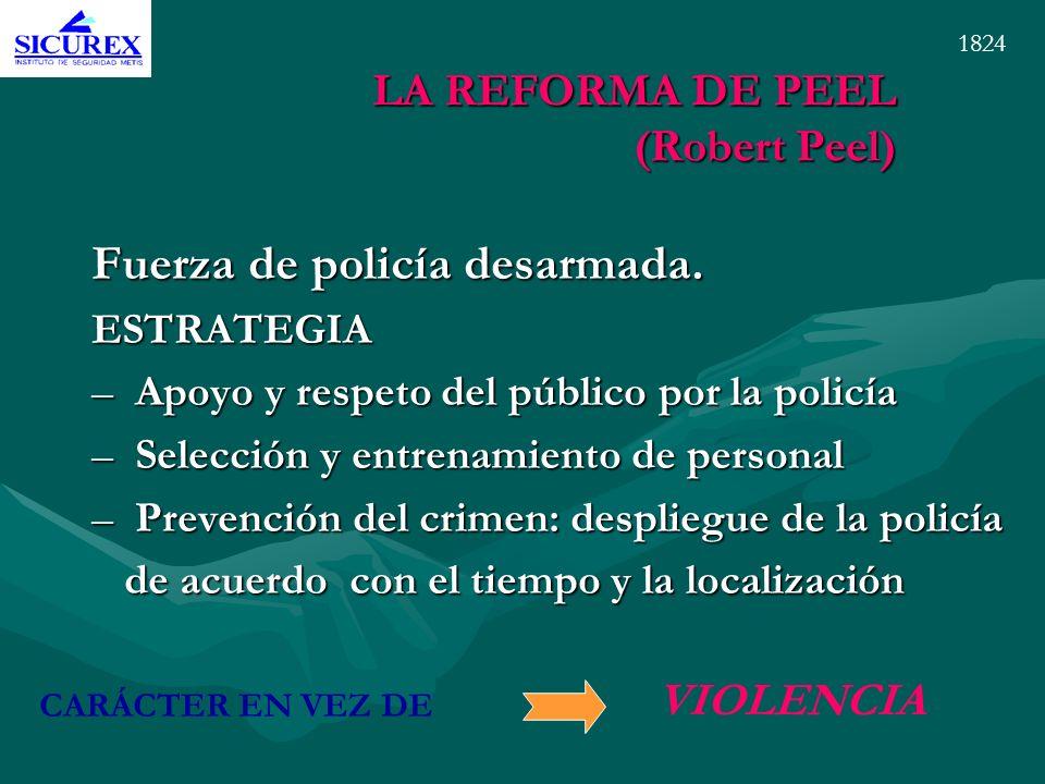 LA REFORMA DE PEEL (Robert Peel)