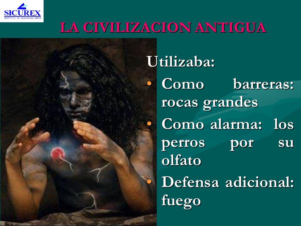 LA CIVILIZACION ANTIGUA