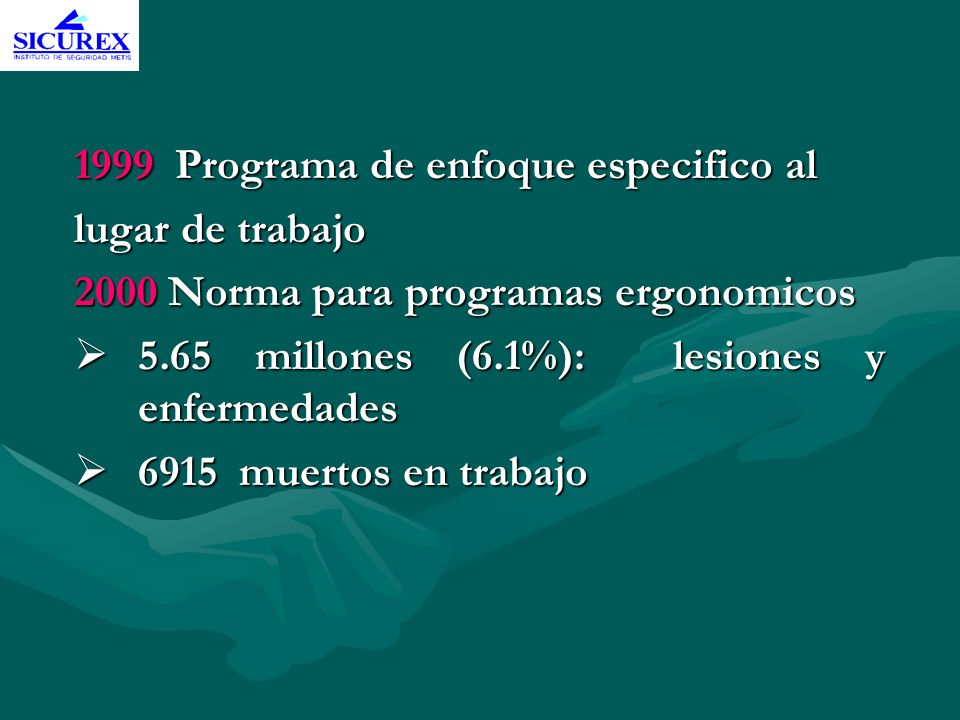 1999 Programa de enfoque especifico al