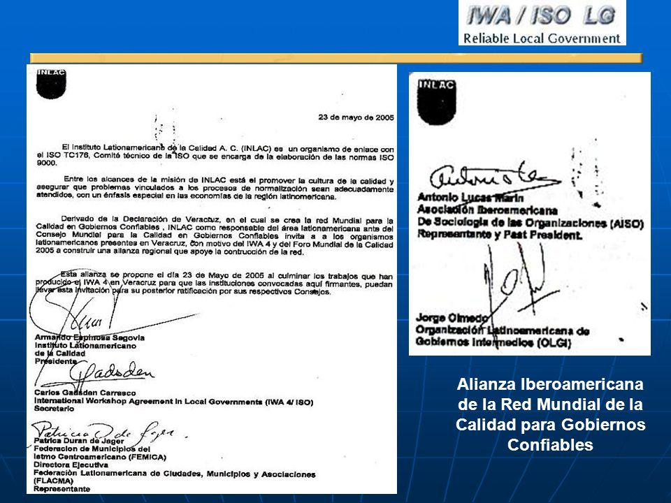 Alianza Iberoamericana Calidad para Gobiernos