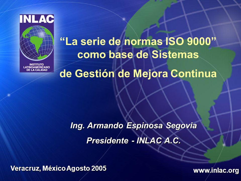 La serie de normas ISO 9000 como base de Sistemas