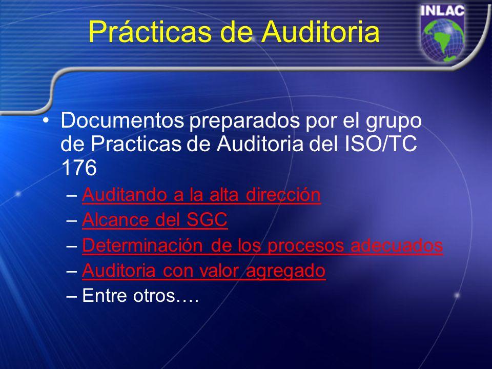 Prácticas de Auditoria