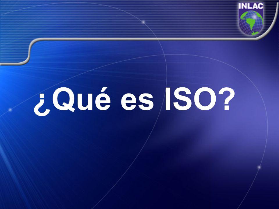 ¿Qué es ISO