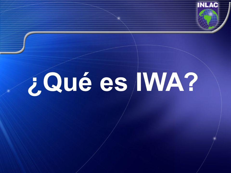 ¿Qué es IWA