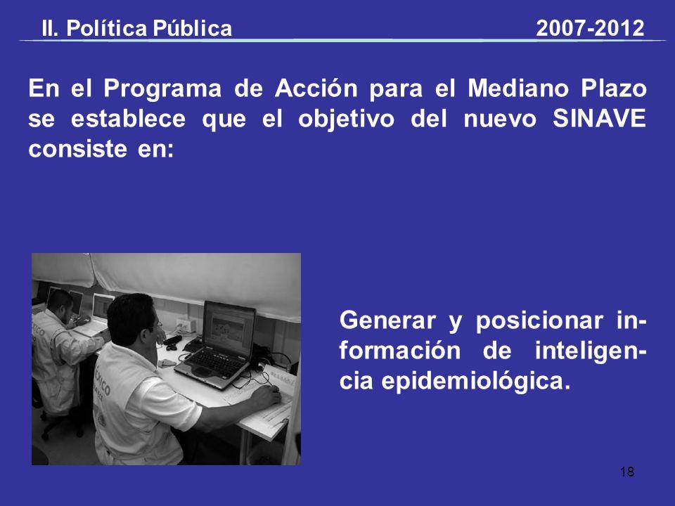 Generar y posicionar in-formación de inteligen-cia epidemiológica.