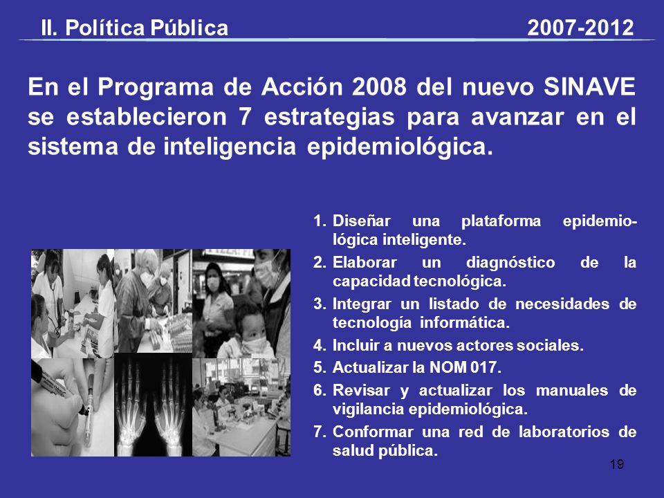 II. Política Pública 2007-2012.