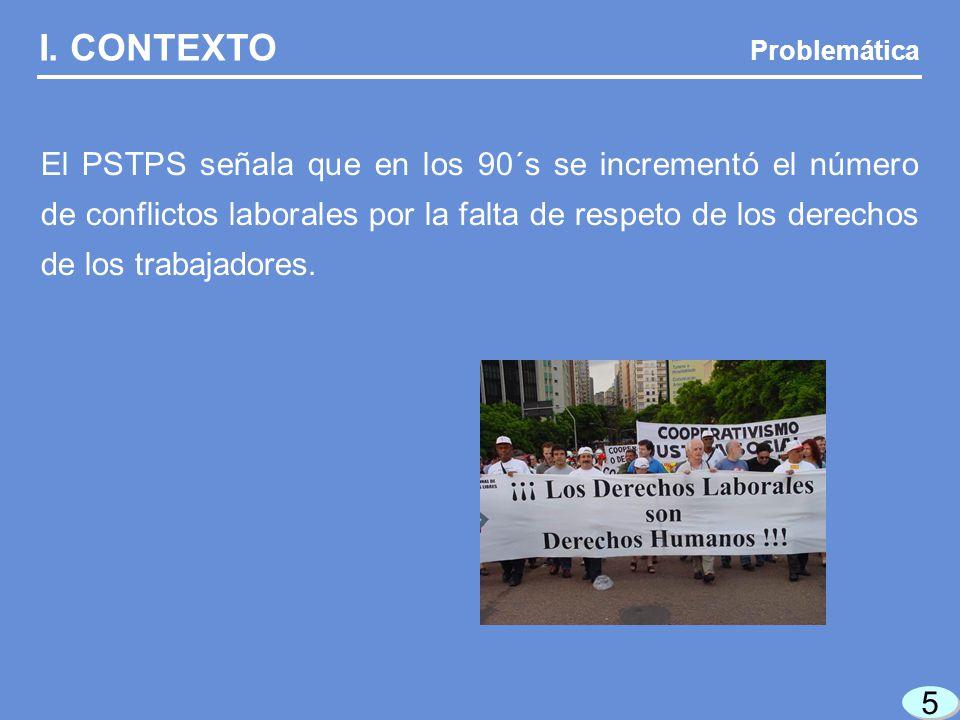 I. CONTEXTO Problemática.