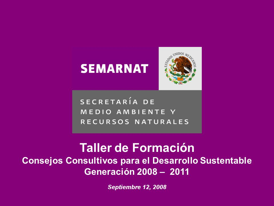 Consejos Consultivos para el Desarrollo Sustentable
