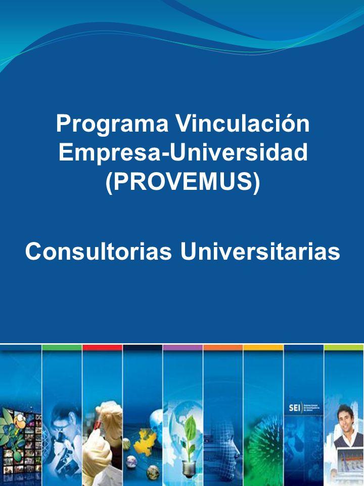 Programa Vinculación Empresa-Universidad (PROVEMUS)