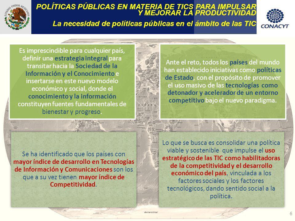 La necesidad de políticas públicas en el ámbito de las TIC
