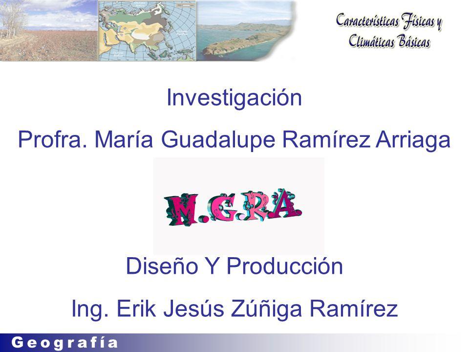 Profra. María Guadalupe Ramírez Arriaga