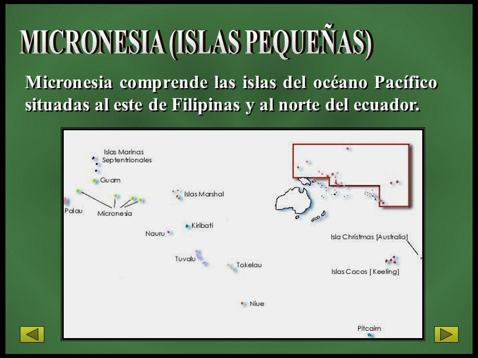MICRONESIA (ISLAS PEQUEÑAS)