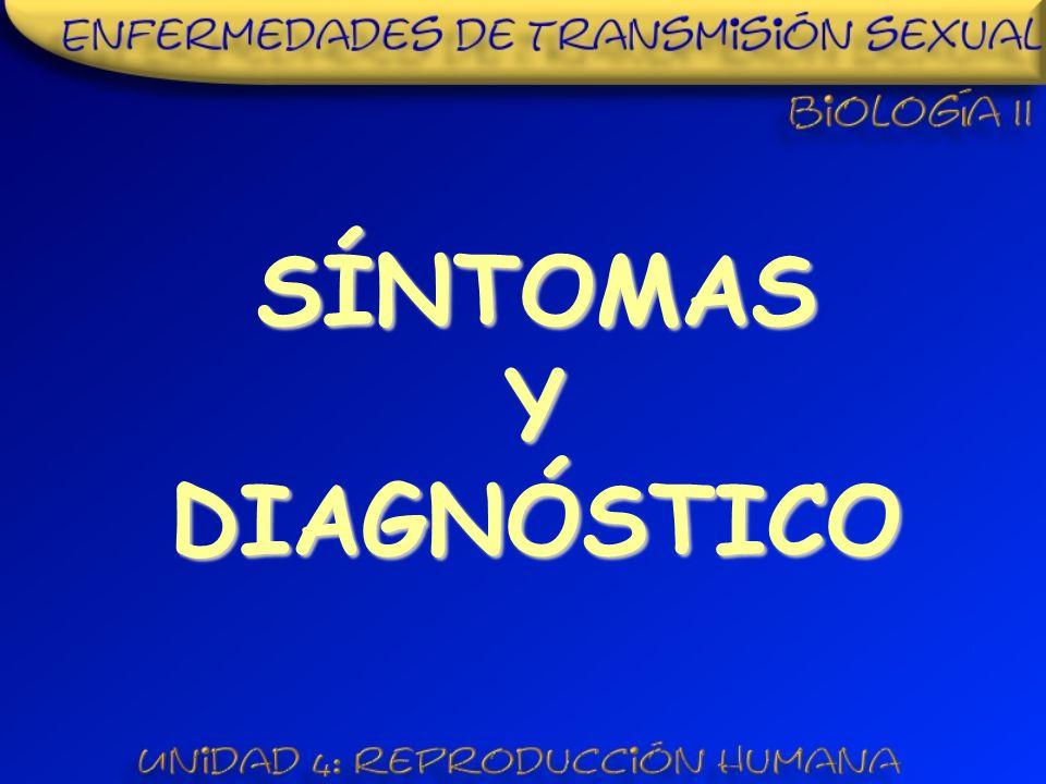 SÍNTOMAS Y DIAGNÓSTICO